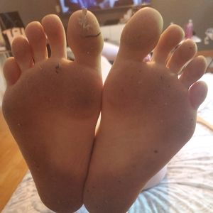 Women Dirty Feet
